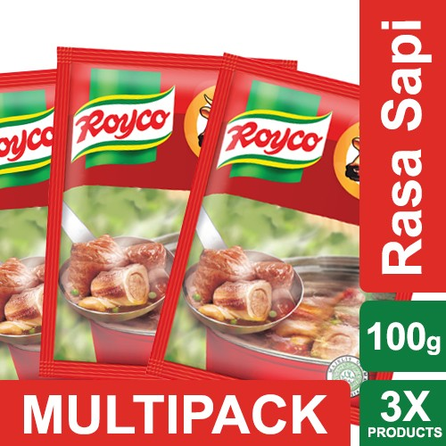 harga Royco bumbu kaldu sapi 100g multi pack Tokopedia.com