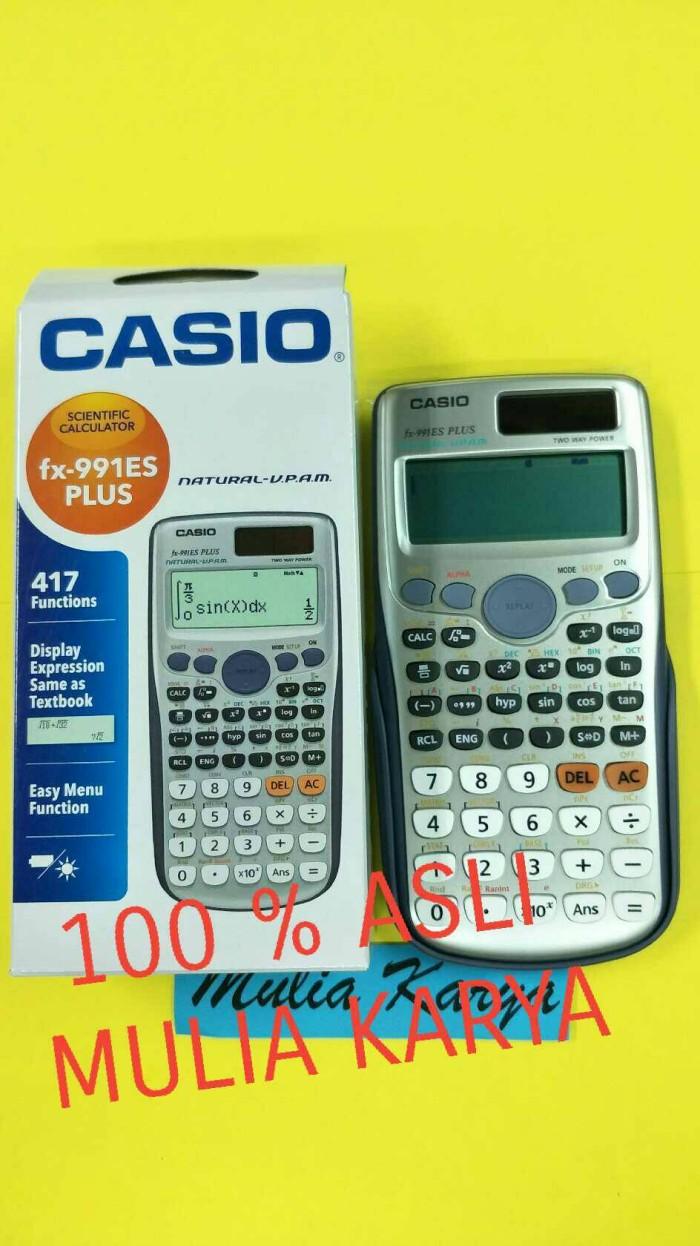 Casio Fx 991 Id Plus Kalkulator Ilmiah Abu Daftar Harga Deli 240f Scientific Calculator 10 2 Digits E1710 Sains Es