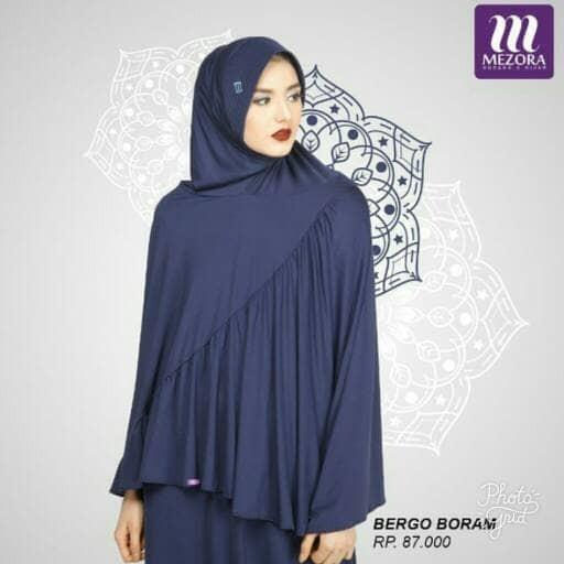 Bergo/ hijab instan boram mezora original