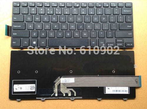 harga Original keyboard laptop dell inspiron 14-3000 14-3441 14-3442 14-5442 Tokopedia.com