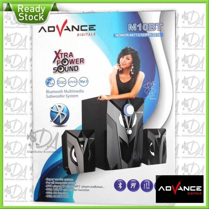 Speaker bluetooth advance m10bt speaker aktif m10 bt