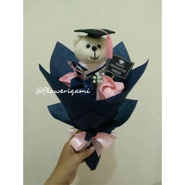 harga Buket bunga mawar origami boneka wisuda extra small Tokopedia.com