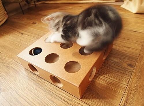 harga Mainan kucing kotak kayu wooden cat puzzle toy Tokopedia.com