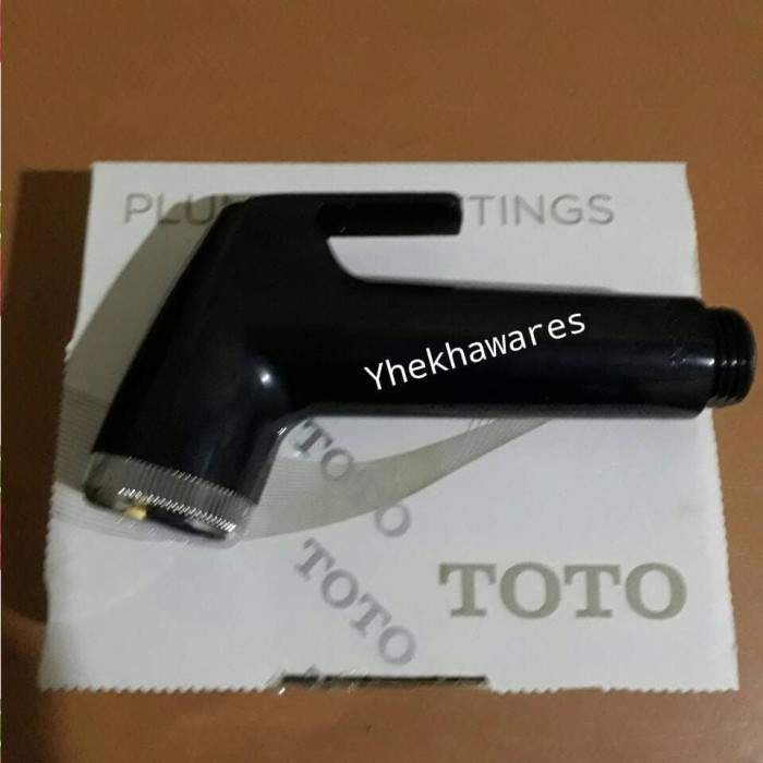 harga Kepala shower spray jet washer toto warna hitam Tokopedia.com