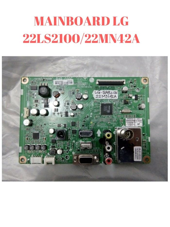 harga Mainboard motherboard pcb main  modul lcd lg model 22ls2100 22mn42a Tokopedia.com