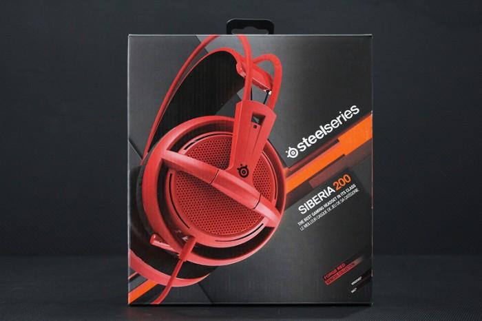 Foto Produk SALE SteelSeries Siberia 200 - RED dari Jameshamstore