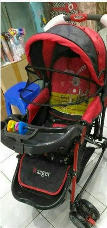 harga Stroller pliko ranger new motif/kereta dorong bayi/baby stroller Tokopedia.com