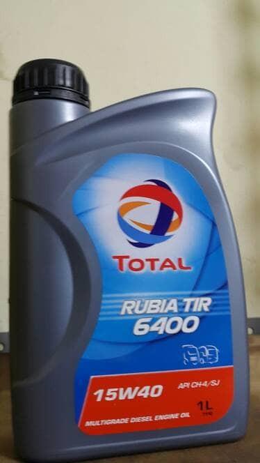 Oli Mesin Total Rubia 15w40 Ch4 Sj Liter
