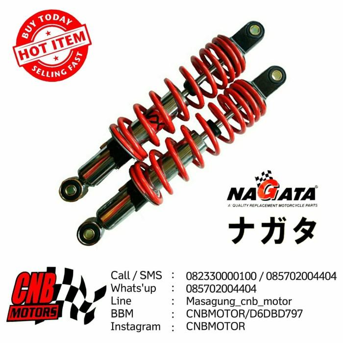 harga Shockbreaker shock belakang nagata - daytona murah 360 mm merah Tokopedia.com