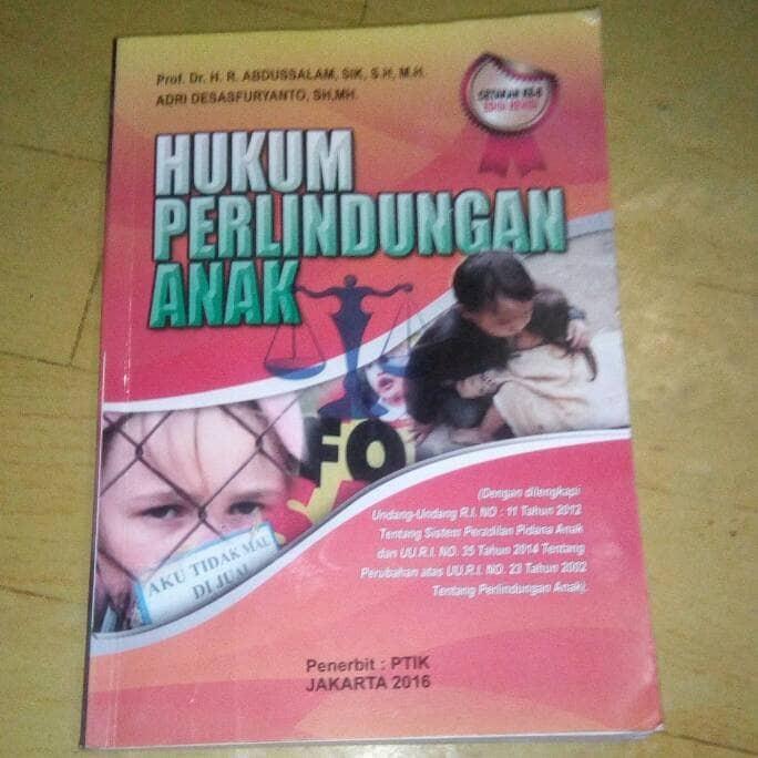 Foto Produk HUKUM PERLINDUNGAN ANAK dari TOKO BUKU MANDA
