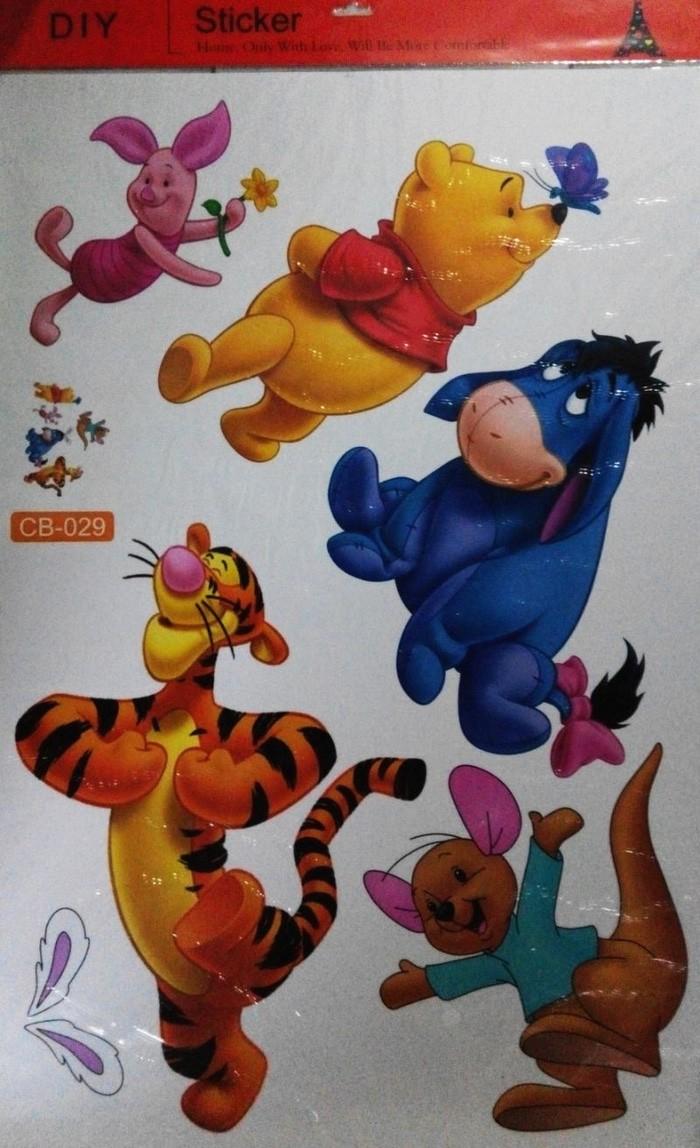 Jual Wallpaper Winnie The Pooh CB-029 - Stiker Dinding / Wall Sticker