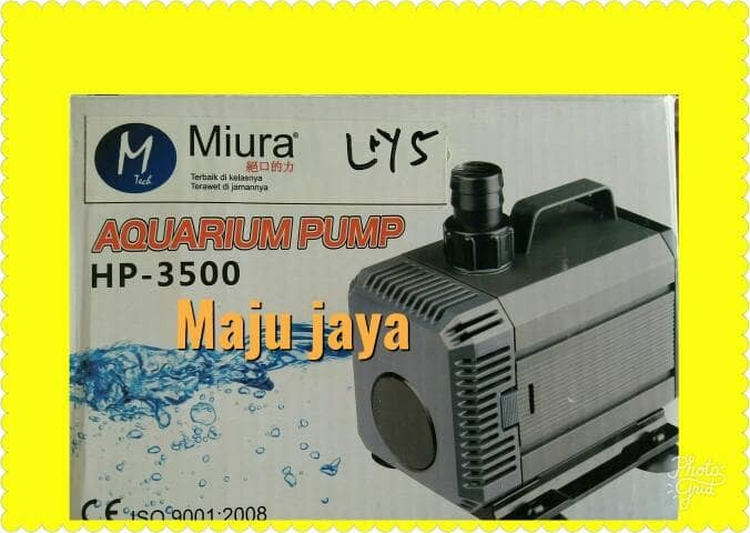 ... Pompa celup 85 wat MIURA kolam ikan wasser wd 80 airlux shimizu york