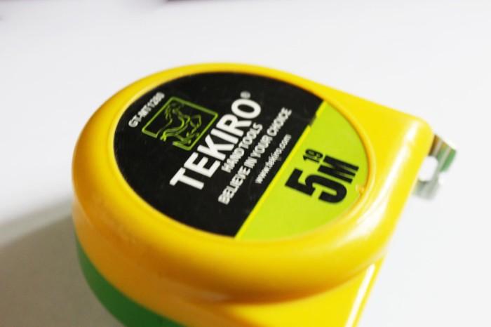 harga Meteran roll self lock / measurement tape / pita ukur 5m tekiro. Tokopedia.com