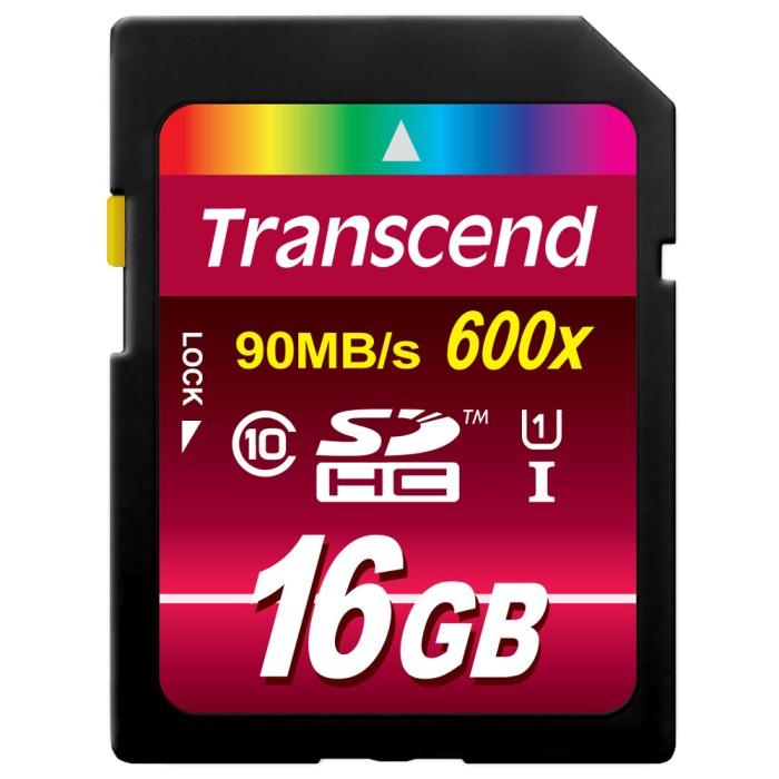 harga Memory card kamera ultra high speed sdhc transcend 16gb c10 u1 90mb/s Tokopedia.com