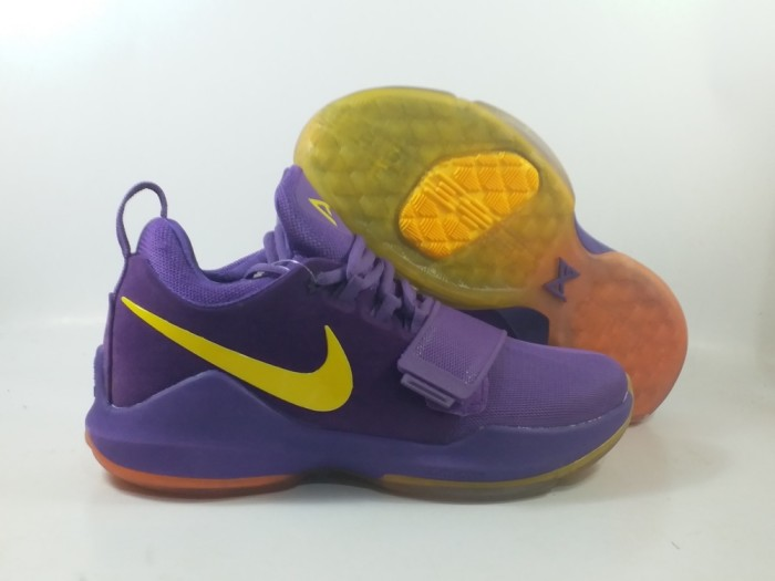 newest 61231 9db72 Jual Sepatu basket Nike PG1 PG 1 Lakers Purple Yellow Ungu Kuning - Kota  Batam - AJ Basketball Store | Tokopedia