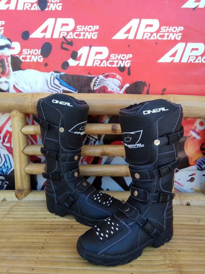 harga Sepatu trail cross oneal hitam polos Tokopedia.com