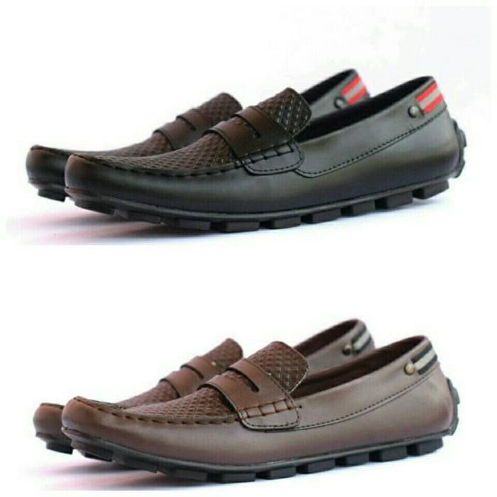 harga Sepatu casual dhoom signin santai slip on slop loafers original murah Tokopedia.com