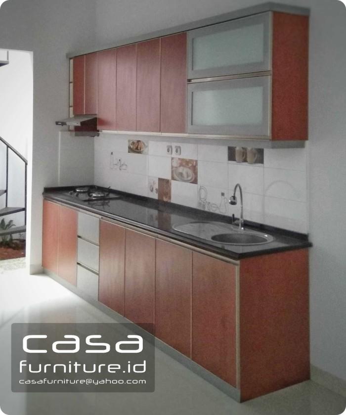 Jual Kitchen Set Minimalis Top Table Granit Panjang 3 Meter Kab Bogor Casafurniture Tokopedia