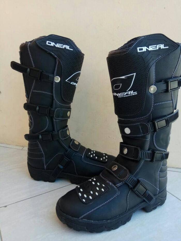 harga Sepatu cross trail oneal hitam lokal Tokopedia.com