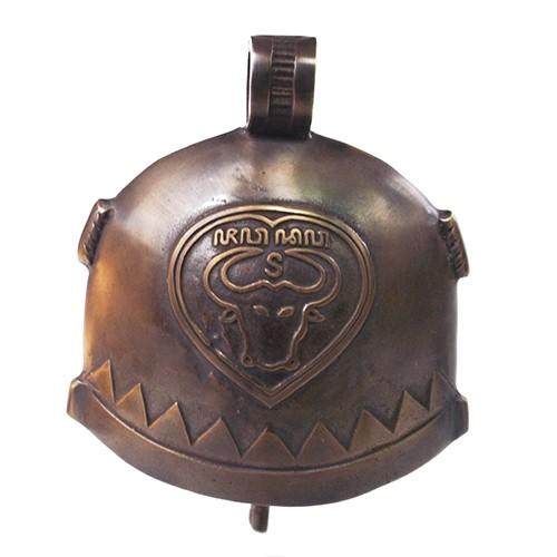 harga 6-3/4  bel pintu rumah lonceng klontong sapi / brass doorbell cowbell Tokopedia.com