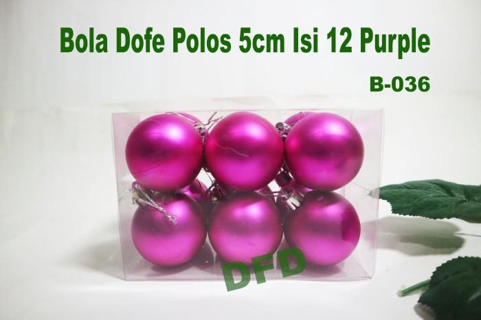 harga Aksesoris natal / ornamen natal / bola natal dofe 5cm isi 12 purple Tokopedia.com