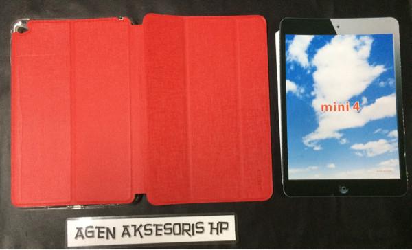 harga Flipcover ipad mini 4 wi-fi 7.9 inchi sarung tablet buku leather case Tokopedia.com
