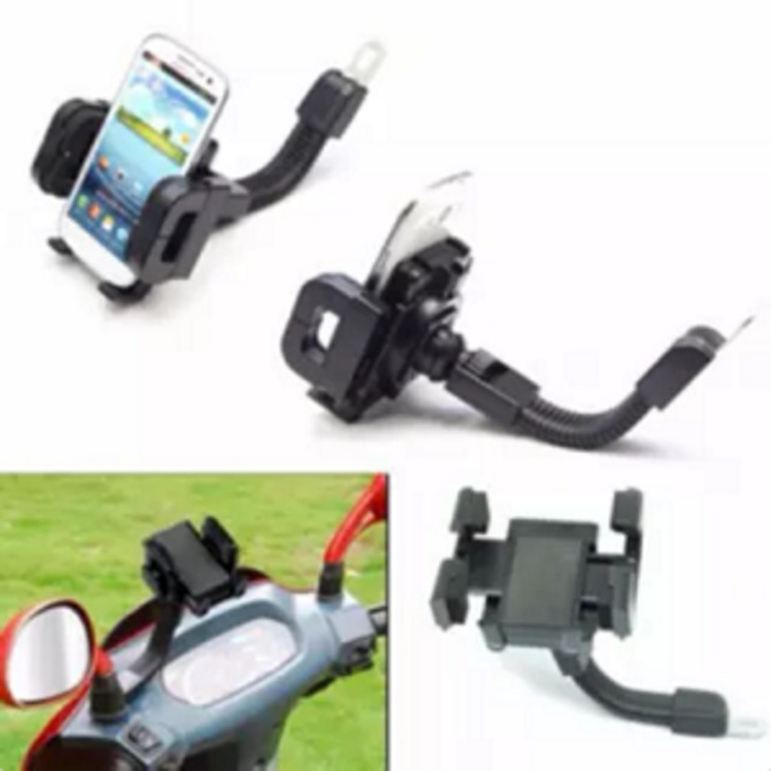harga Holder hp smartphone gps bike motor di spion Tokopedia.com