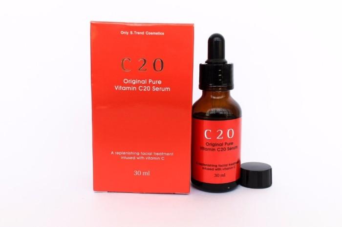 harga Ost c20 original pure vitamin c serum 30ml Tokopedia.com