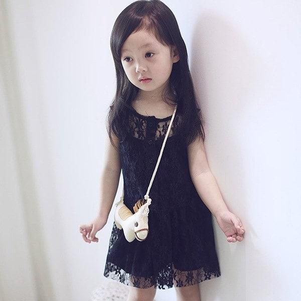 harga Pakaian baju dress pesta party anak cewe perempuan hitam brokat murah Tokopedia.com