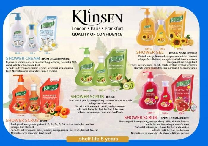 Klinsen Shower - Cream Brightening Goat's Milk 280 ml