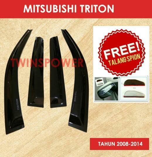 Talang Air Mobil Mitsubishi Triton