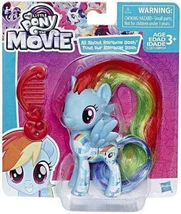 harga My little pony the movie 2017 rainbow dash mainan figure Tokopedia.com