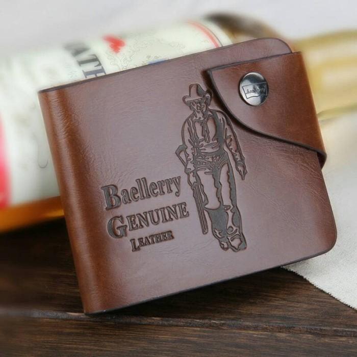 Baellerry Dompet Classic Cowboy Pria - Brown