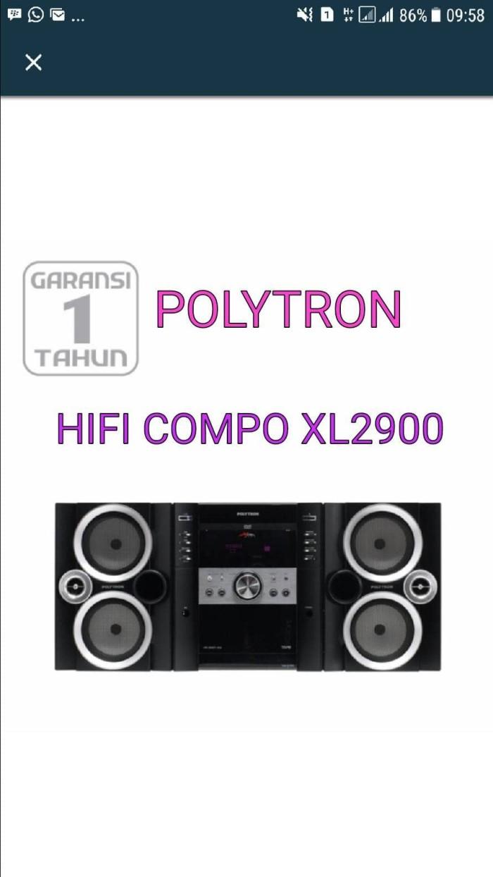 harga Polytron hifi compo xl-2900 Tokopedia.com