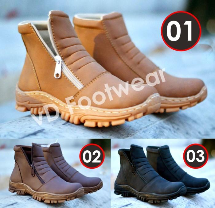 harga Moofeat elastico safety boots sepatu pria casual sneakers pantofel Tokopedia.com