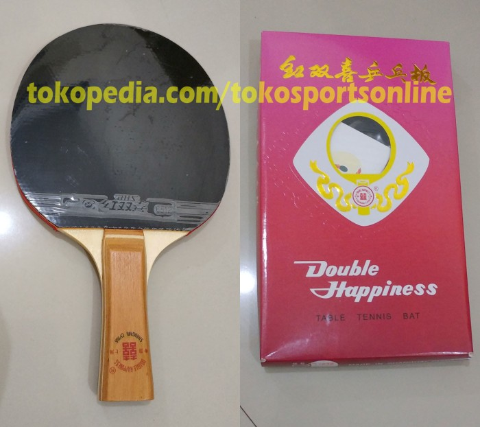 Bat Bet Ping Pong Tenis Meja DHS Double Happiness 1832