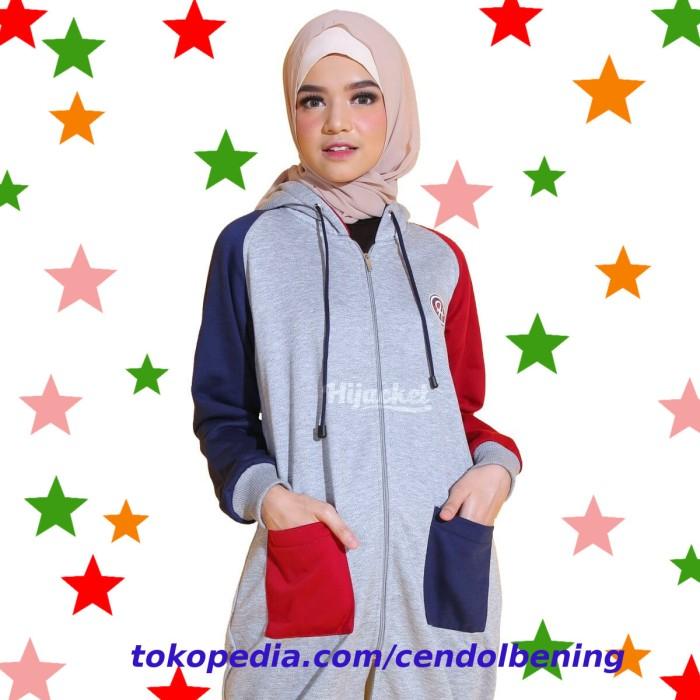 ... harga Jaket hijaber hijacket groovy marvelous outwear sweater hijab  cantik Tokopedia.com f232af04d7