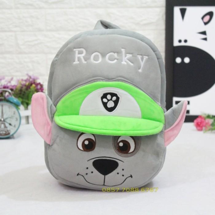 harga Tas sekolah anak boneka karakter paw patrol rocky sd original import Tokopedia.com