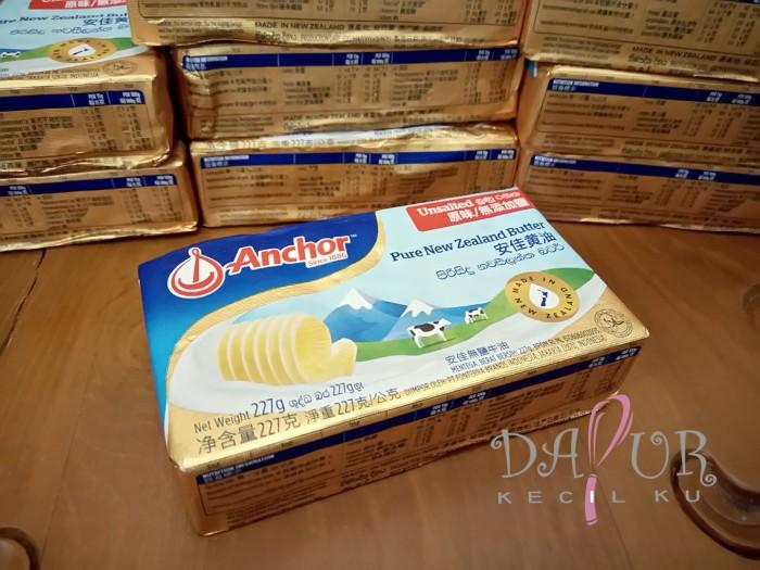 harga Anchor unsalted butter 227 gr Tokopedia.com