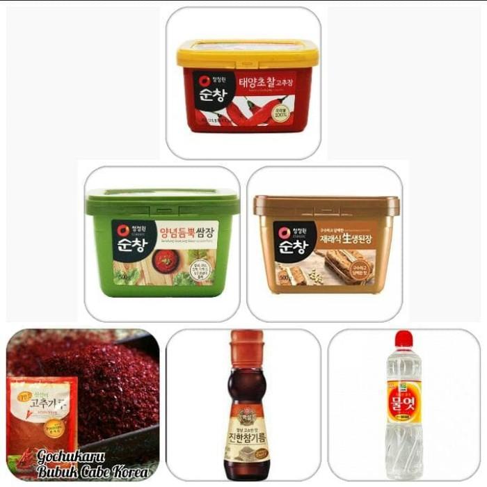 harga Paket bumbu masak korea kumplit gochujang/ssamjang/doenjang Tokopedia.com