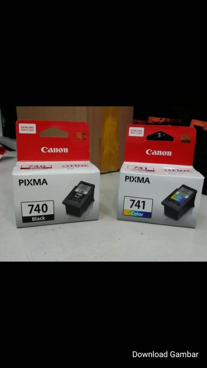 Jual Paketan Tinta Canon 740741 Original Sawal Com Tokopedia 740
