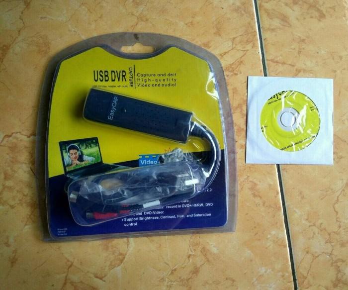 Foto Produk AV Capture USB DVR 1 Channel EasyCap Easy Cap dari starshop98