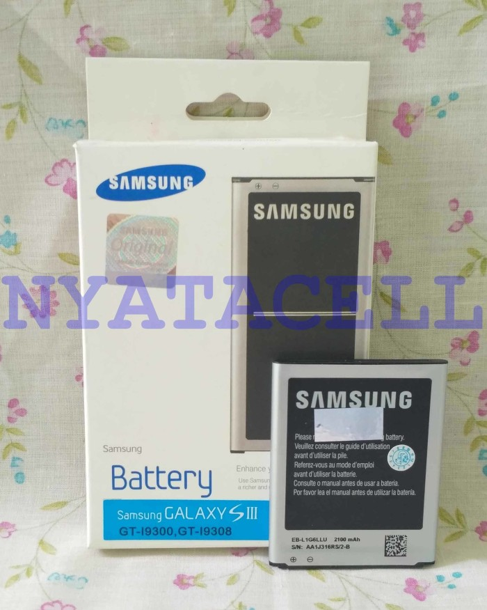 harga Baterai original 100% samsung galaxy s3 i9300 i9308 ori/batre/sein Tokopedia.com