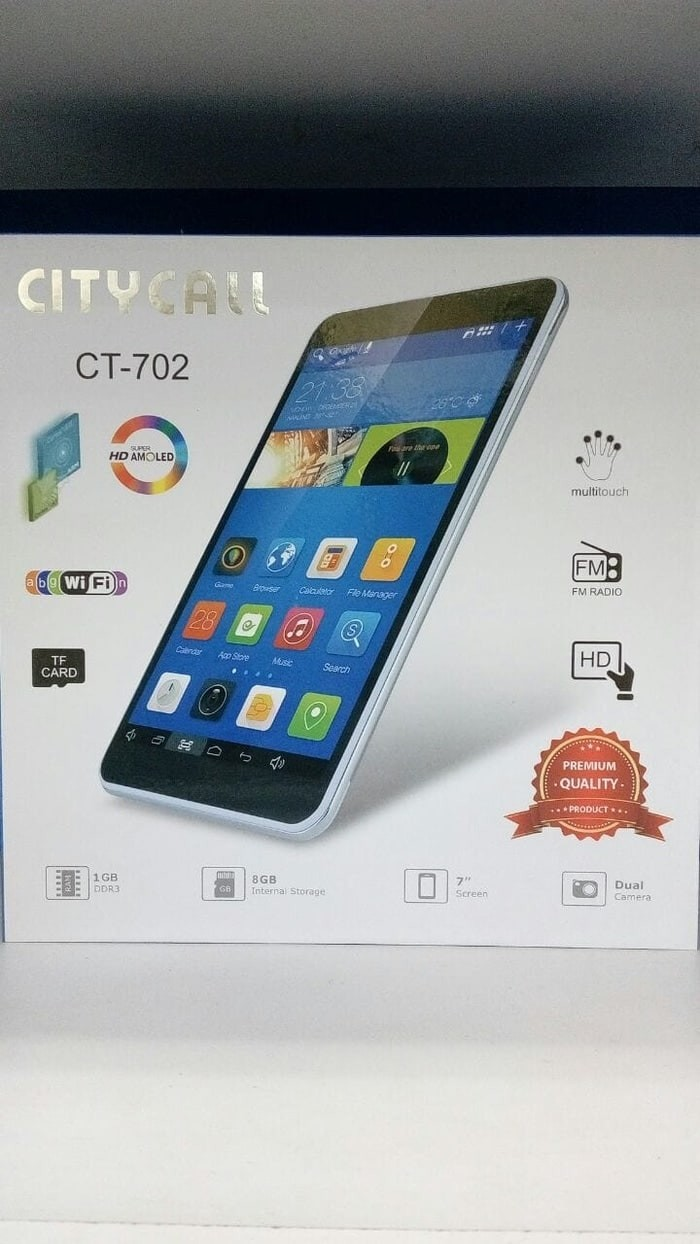 harga Citycall ct-702 7.0 inch - ram 1gb/8gb - wifi only Tokopedia.com