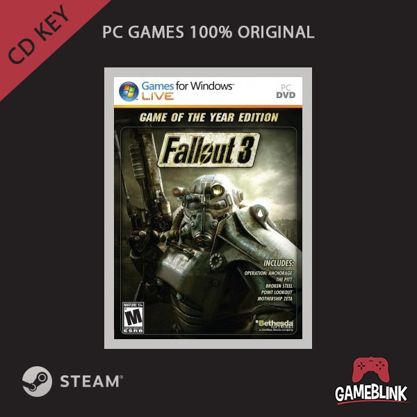 games for windows live fallout 3 cd key