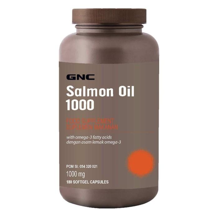 Gnc salmon oil 1000 - 180 kapsul lunak…