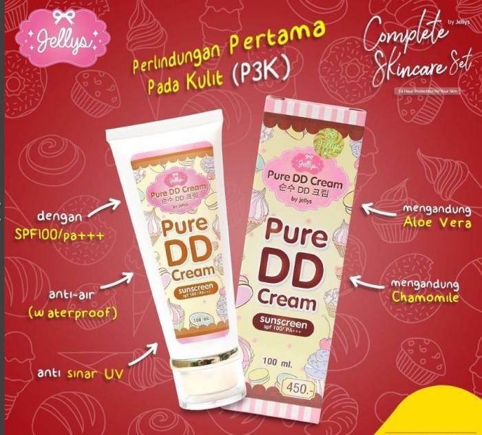 Krim wajah dd cream pure jellys 100% original thailand ...