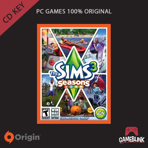 harga [pc games original] the sims 3: seasons dlc cd key origin Tokopedia.com