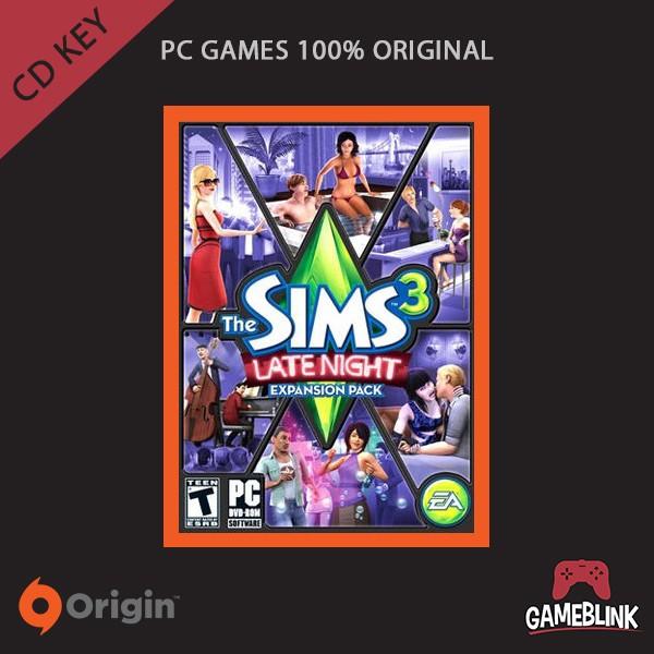 harga [pc games original] the sims 3: late night dlc cd key origin Tokopedia.com