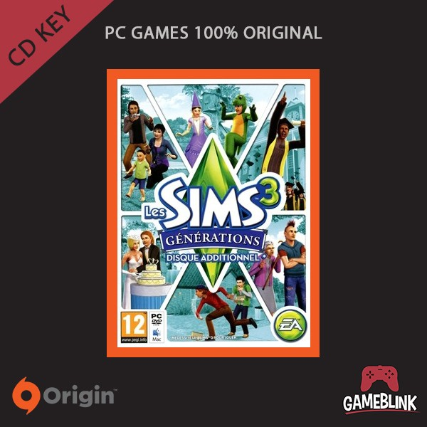 harga [pc games original] the sims 3: generations dlc cd key origin Tokopedia.com